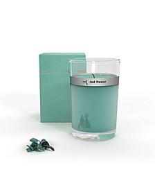 Ocean Petal Topped Candle, 6 oz