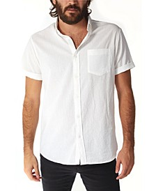 Men's Tonal Seersucker Buttondown Shirt