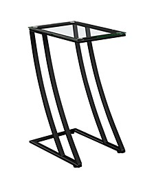 Accent Table - with Tempered Glass
