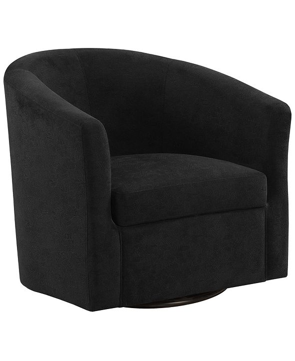 Monarch Specialties Accent Chair - Swivel Abstract