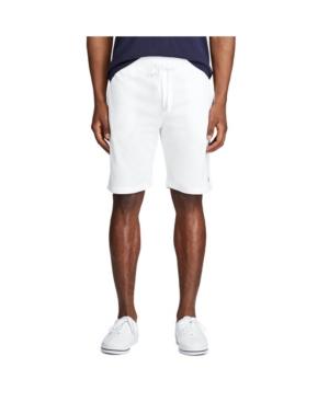 "Polo Ralph Lauren Men's Cotton Mesh 7.75"" Shorts In White"