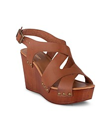 Elizabeth Women's Strappy Wedge Sandal
