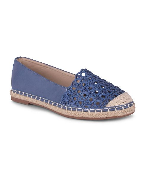 Wanted Bristol Womens' Perforated Espadrille Flat