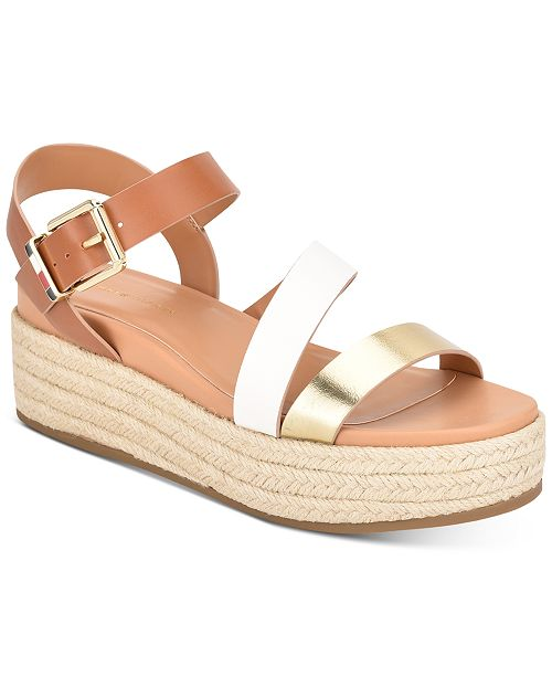 Tommy Hilfiger Women's Marri Flatform Sandals, Created for Macy's