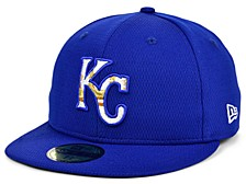 Kids Kansas City Royals 2020 Batting Practice 59FIFTY-FITTED Cap