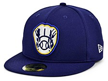 Kids Milwaukee Brewers 2020 Kids Batting Practice 59FIFTY-FITTED Cap