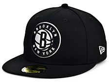 Brooklyn Nets Men's All Around Fitted Cap