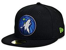 New Era Minnesota Timberwolves Men's All Around Fitted Cap