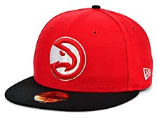 Atlanta Hawks Men's Pennant Patch Fitted Cap