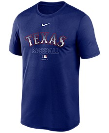 Texas Rangers Men's Authentic Collection Legend Practice T-Shirt