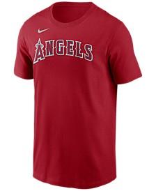 Los Angeles Angels  Men's Swoosh Wordmark T-Shirt