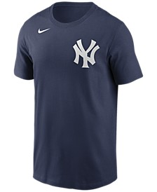 New York Yankees  Men's Swoosh Wordmark T-Shirt