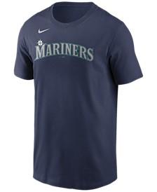 Seattle Mariners  Men's Swoosh Wordmark T-Shirt