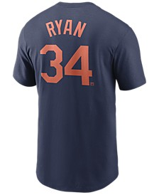 Houston Astros Men's Coop Nolan Ryan Name and Number Player T-Shirt