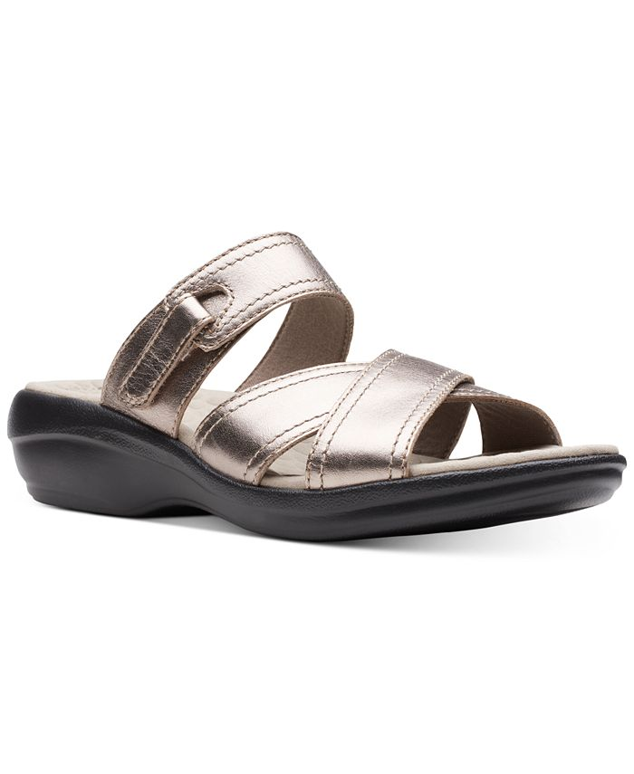 Clarks - Alexis Art Flat Sandals