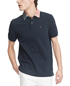 Men's Austin Custom-Fit Stars & Stripes Polo Shirt