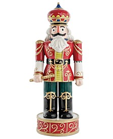 Red Nutcracker Collectible Figurine