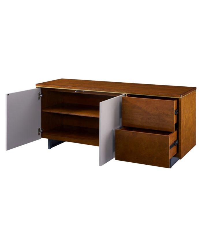 Southern Enterprises Cop Storage Media Stand & Reviews - Furniture - Macy's