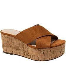 Civil Wedge Sandals