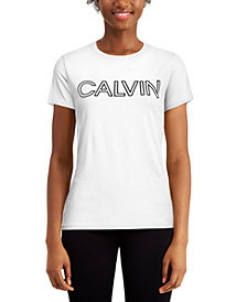 Calvin Klein Performance Outline-Logo T-Shirt