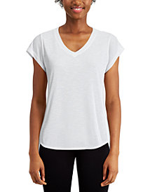 Calvin Klein Performance Rolled-Cuff T-Shirt