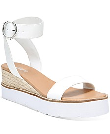 Dessi Two-Piece Flatform Wedge Sandals, Created for Macy's