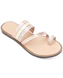 Spring Toe Loop Sandals