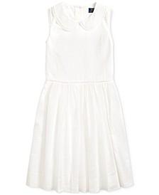 Big Girls Floral Cotton Voile Dress