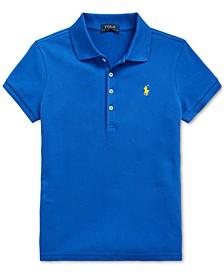 폴로 랄프로렌 여아용 폴로 셔츠 Polo Ralph Lauren Big Girls Stretch Pique Polo Shirt