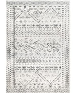 nuLoom Spring Corliss Ethnic Beige 8' x 10' Area Rug Product Image