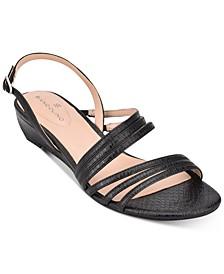 Tilly Strappy Sliver Wedge Sandal