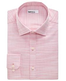 Men's Organic Cotton Slub Solid Slim Fit Dress Shirt, Created for Macy's