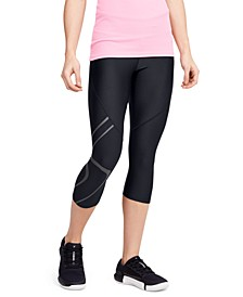Women's HeatGear® Graphic Capri Leggings