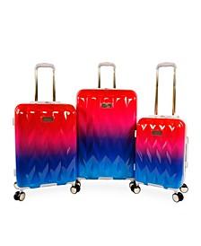 Raelynn 3-Piece Hardside Spinner Luggage Set