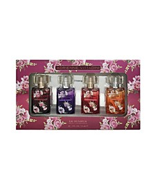4-Pc Floral Eau De Parfum Coffret Set