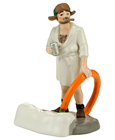 Department 56 Snow Village National Lampoon's Christmas Vacation Cousin Eddie in the Morning Collectible Figurine