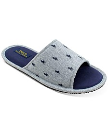 Men's Pony Slide Slippers