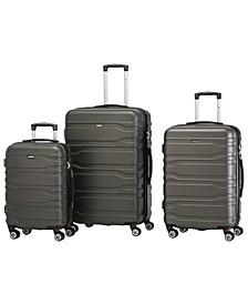 San Marino Collection Lightweight Spinner 3 Piece Luggage Set
