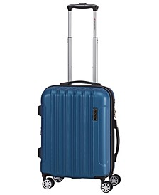 Santa Clara Collection 20'' Lightweight Carry-on Spinner Luggage Bag