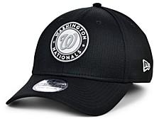 Washington Nationals 2020 Clubhouse Black White 39THIRTY Cap