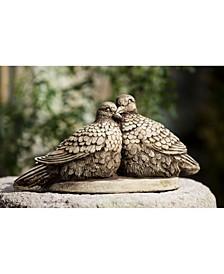 Lovebirds Garden Statue