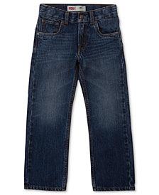 Levi's® 505™  Regular Fit Jeans, Little Boys
