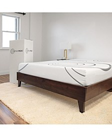 "SensorPEDIC 8"" Dual Layer Gel-Infused Memory Foam Firm Mattress - Full"