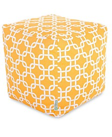 """Links Ottoman Pouf Cube with Removable Cover 17"""" x 17"""""""