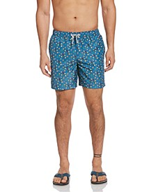 "Men's Packable Drink Print 6"" Swim Trunk"
