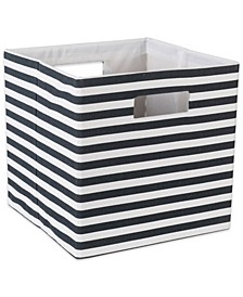 Polyester Cube Pinstripe Square