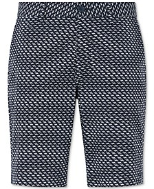Men's Navy Sail Bermuda Shorts