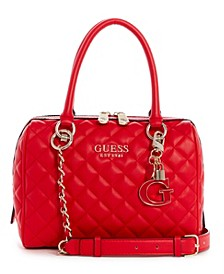 Melise Quilted Box Satchel