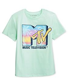 Juniors' MTV Beach Graphic T-Shirt