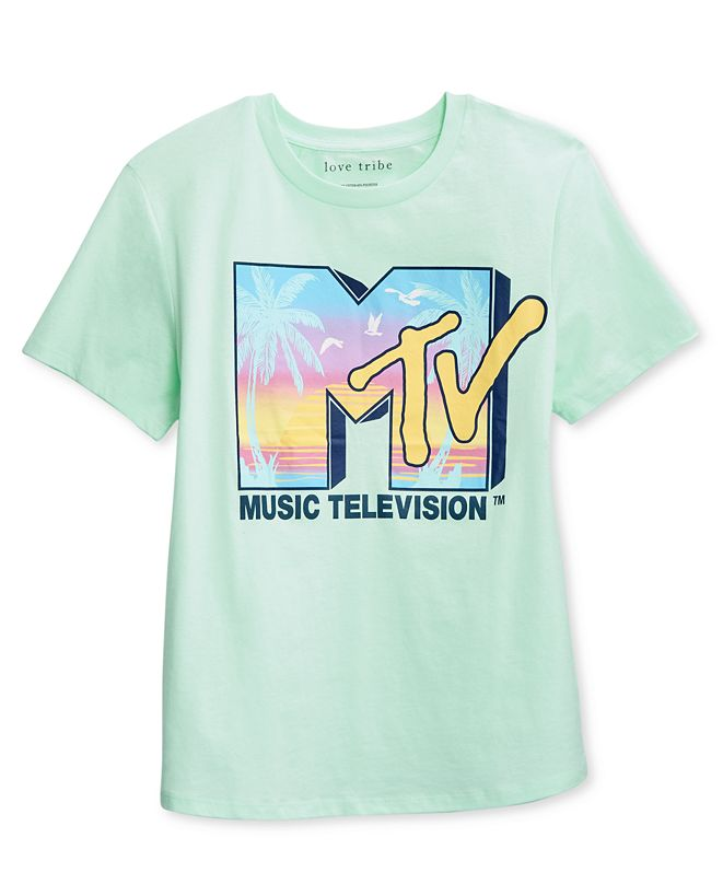 Love Tribe Juniors' MTV Beach Graphic T-Shirt